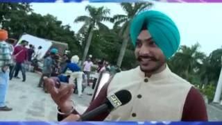 On Location Shoot Of Song 'surname' By Rajvir Jawanda  Ptc Entertainment Show