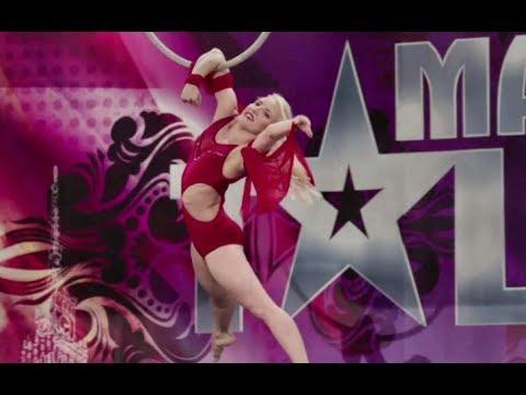 TEGO NIE BYŁO W TV! Dziewczyna, która potrafi latać [Mam Talent!]