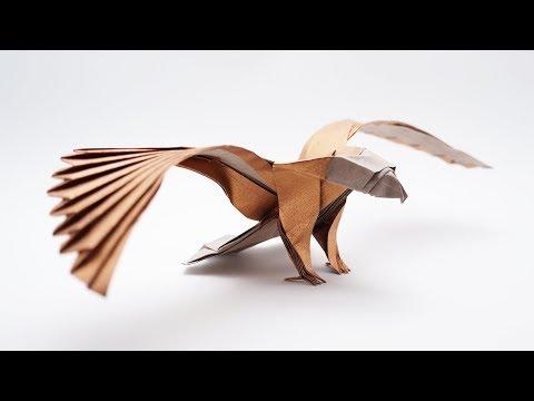 ORIGAMI AMERICAN EAGLE v2 (Jo Nakashima)