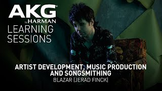 Artist Development, Music Production and Songsmithing with BLAZAR (Jerad Finck) – Webinar