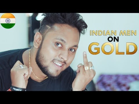 How to Wear Gold Accessories for Indian Men Hindi | Gold Jewelry for Indian Men