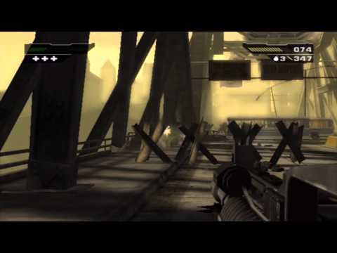 BLACK (PS2) - Mission 7: Graznei Bridge