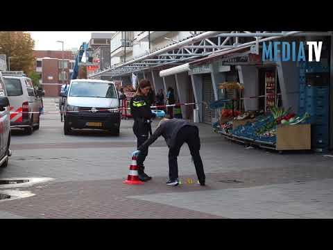 Schietpartij in winkelcentrum Ambachtsplein Rotterdam
