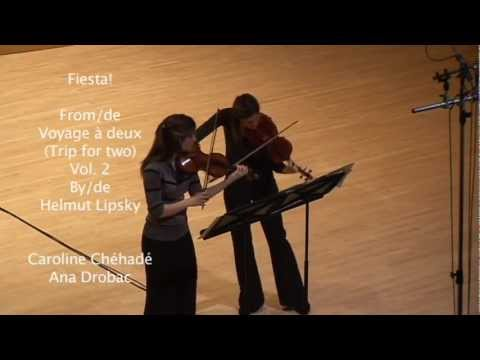 "Duo Philia : ""Fiesta!"" by Helmut Lipsky, live May 2011"