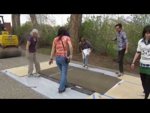 Steamroller printmaking: Rocky Mountain College of Art and Design