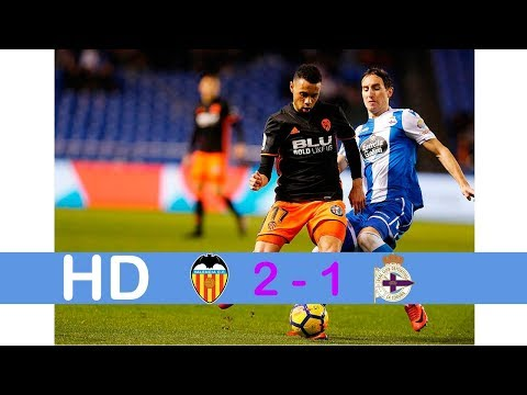 Valencia vs Deportivo 2-1 ( Goals & Highlights )21 may,2018/Latest Football Update 2018