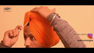 Watta wali pagg Round Style Patiala Shahi  FULL VIDEO   Sukhvir Singh 2018
