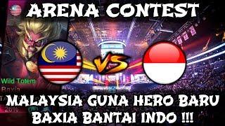 Malaysia Guna Hero Baru BAXIA !! Indonesia Kena Bantai !! Arena Contest