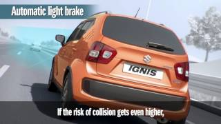 Suzuki IGNIS's Dual Camera Brake Support (DCBS)