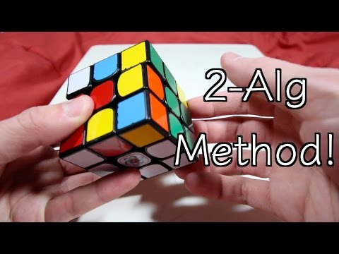 2-Algorithm Rubik's Cube Beginner's Method! BEST Beginner's Method??
