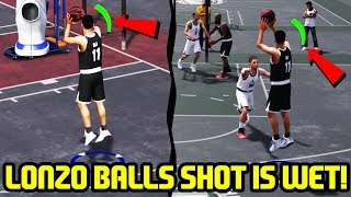 BALLIN WITH LONZO BALLS JUMPSHOT! FIRST GAME OF NBA 2K18 PRELUDE!