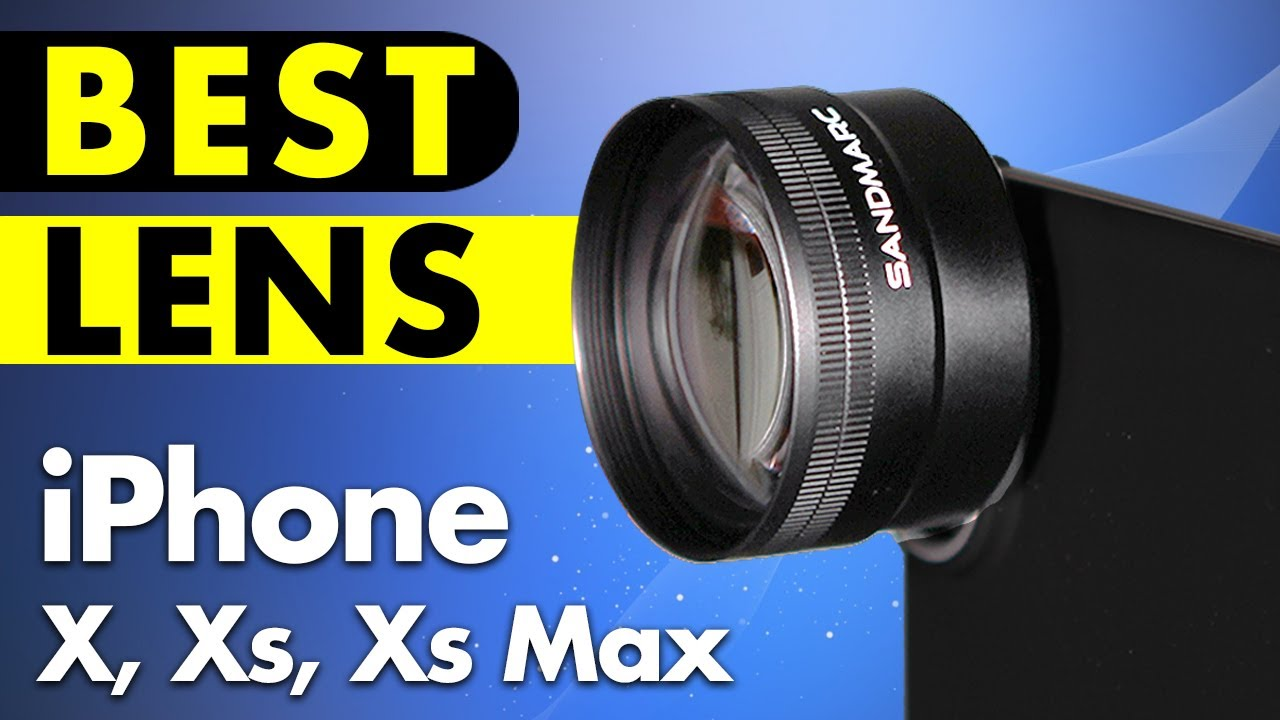 finest selection f5c63 bdf74 Best Lens for iPhone X, Xs, Xs Max (Wide, Tele, Macro) - Sandmarc Unboxing  & Review