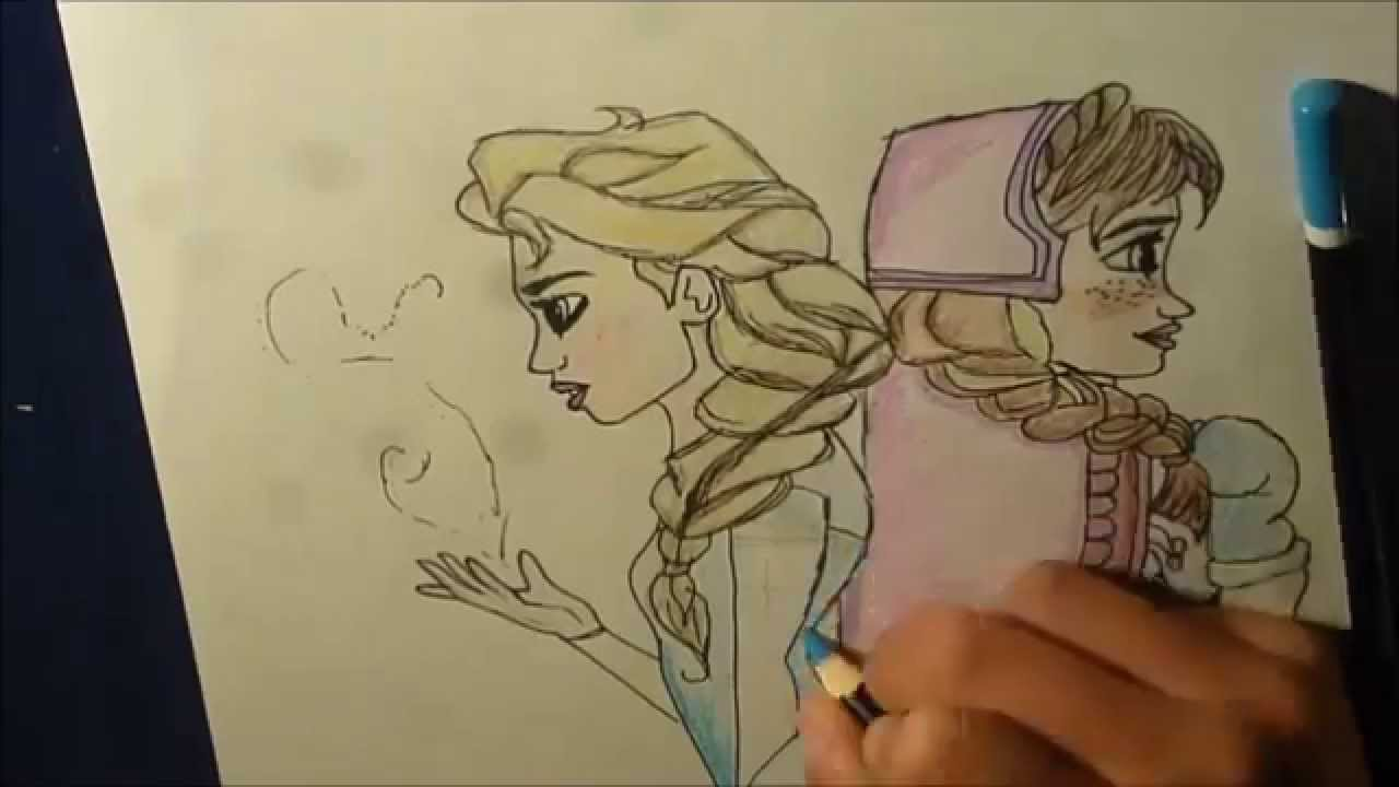 esa sketches frozen anna and sisters - photo #20