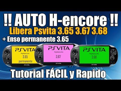 Auto H-encore Libera PSvita 3.65 3.67 3.68 FACILMENTE - Todas las versiones