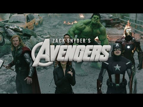 If Zack Snyder Directed The Avengers | Zack Snyder's Style