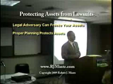 Asset Protection Seminar:  Protecting Assets From Lawsuits