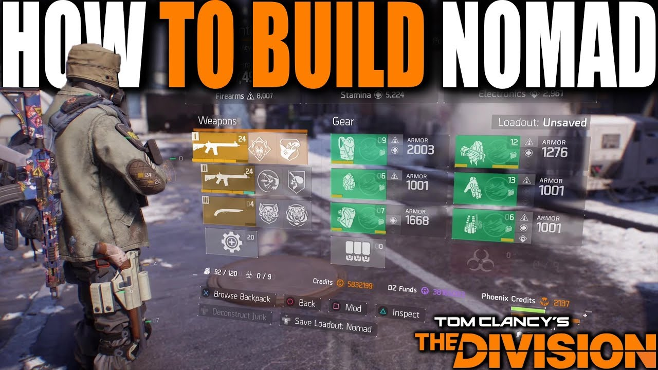 HOW TO BUILD NOMAD CLASSIFIED FOR PVP THE BEST SOLO PLAYER BUILD