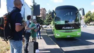 видео Автобус в Турин