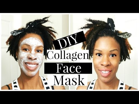DIY Collagen Mask- Best Homemade Recipe: Get Rid of Fine Lines, Crows Feet, Wrinkles & Discoloration