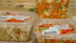 В новом магазине старый салат)