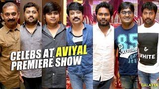 Celebs at Aviyal Premier Show
