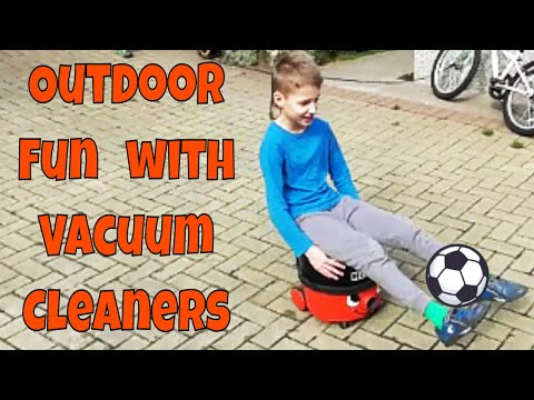 Henry Hoover TV KIDS ENJOY OUTDOOR FUN with Henry the Hoover & Hetty the Hoover
