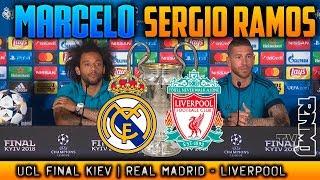RUEDA DE PRENSA de MARCELO Y SERGIO RAMOS Previa FINAL REAL MADRID - LIVERPOOL 25052018