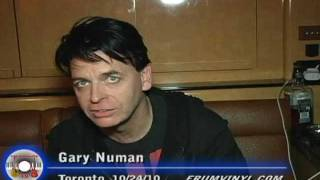 Gary Numan talks about Nash The Slash