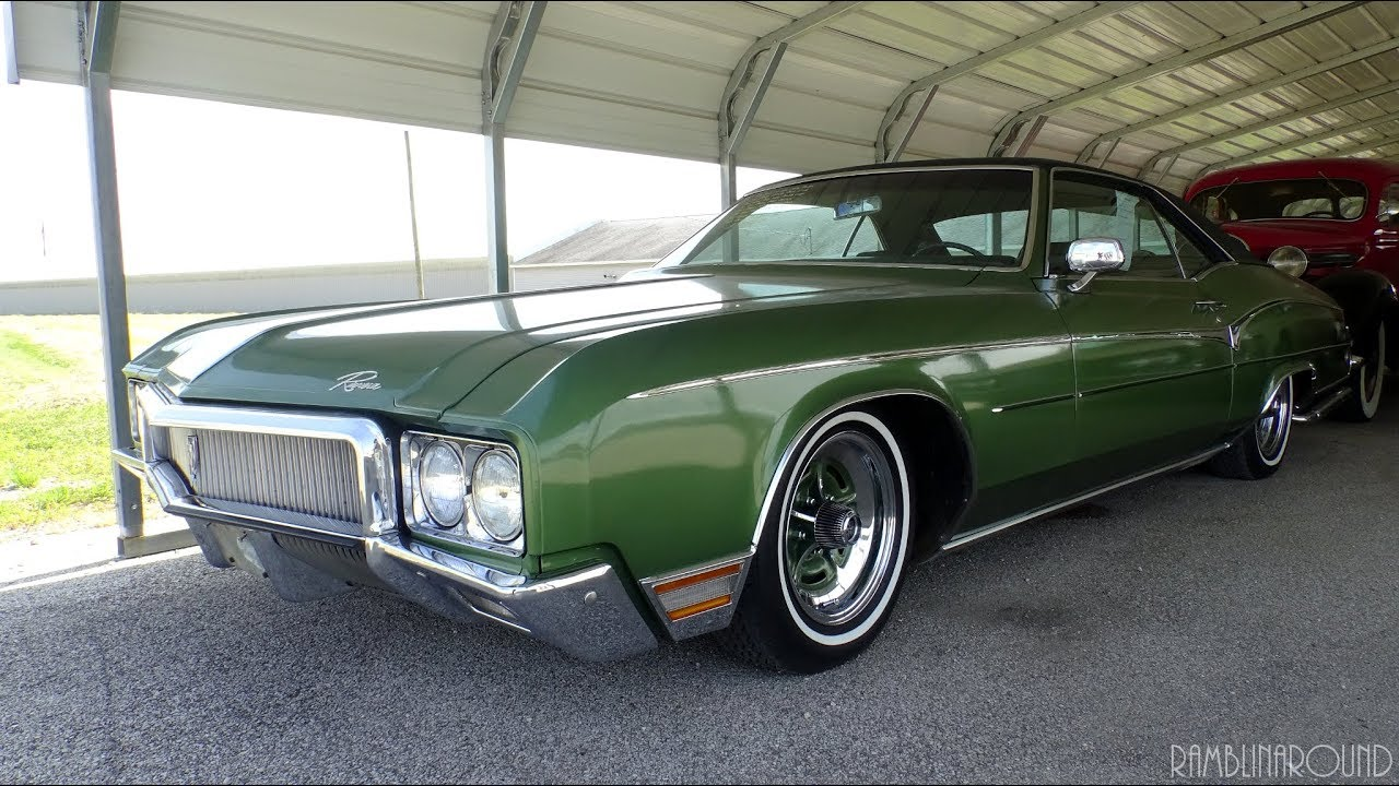 Lowered 1970 Buick Riviera 455 V8 At