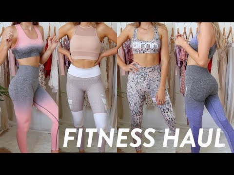 FITNESS WORKOUT CLOTHES HAUL // Pure Dash, Gymshark, Womens Best And More!!
