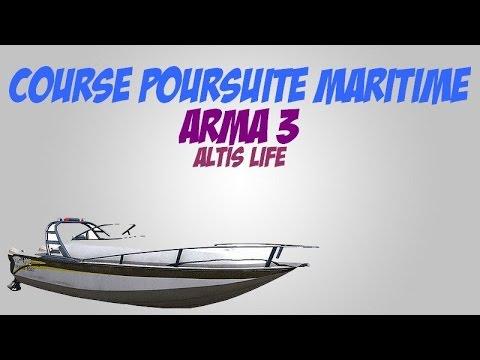 [Arma 3] Course poursuite maritime !