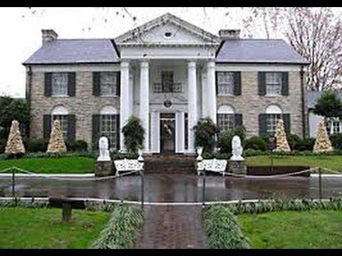 Casas de Famosos Elvis Presley y Michael Jackson  Celebrity Houses IGEOTV  YouTube