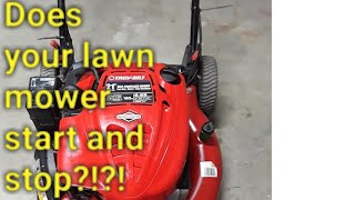Troy-bilt carborator trouble shoot, lawn mower