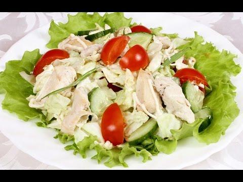 Готовим салаты из консервированных кальмаров! — рецепт