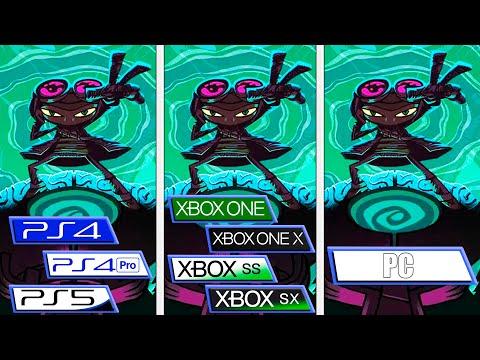 Psychonauts 2 на разных платформах: загрузка на Xbox Series X | S почти в 3 раза быстрее Playstation 5