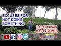 Lección 49: Excuses for not doing something (Las excusas más comunes)