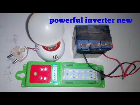 Make inverter,mini inverter,DC to ac inverter,choke inverter,mosfet inverter