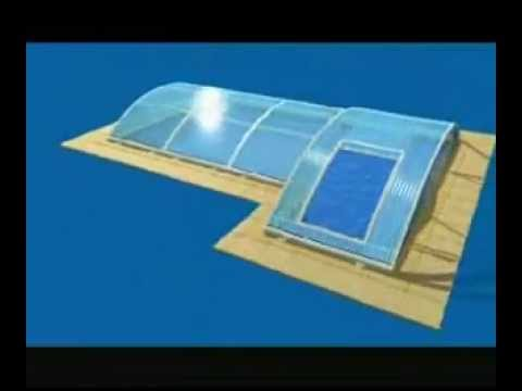 Swimming Pool Glass Cover Youtube