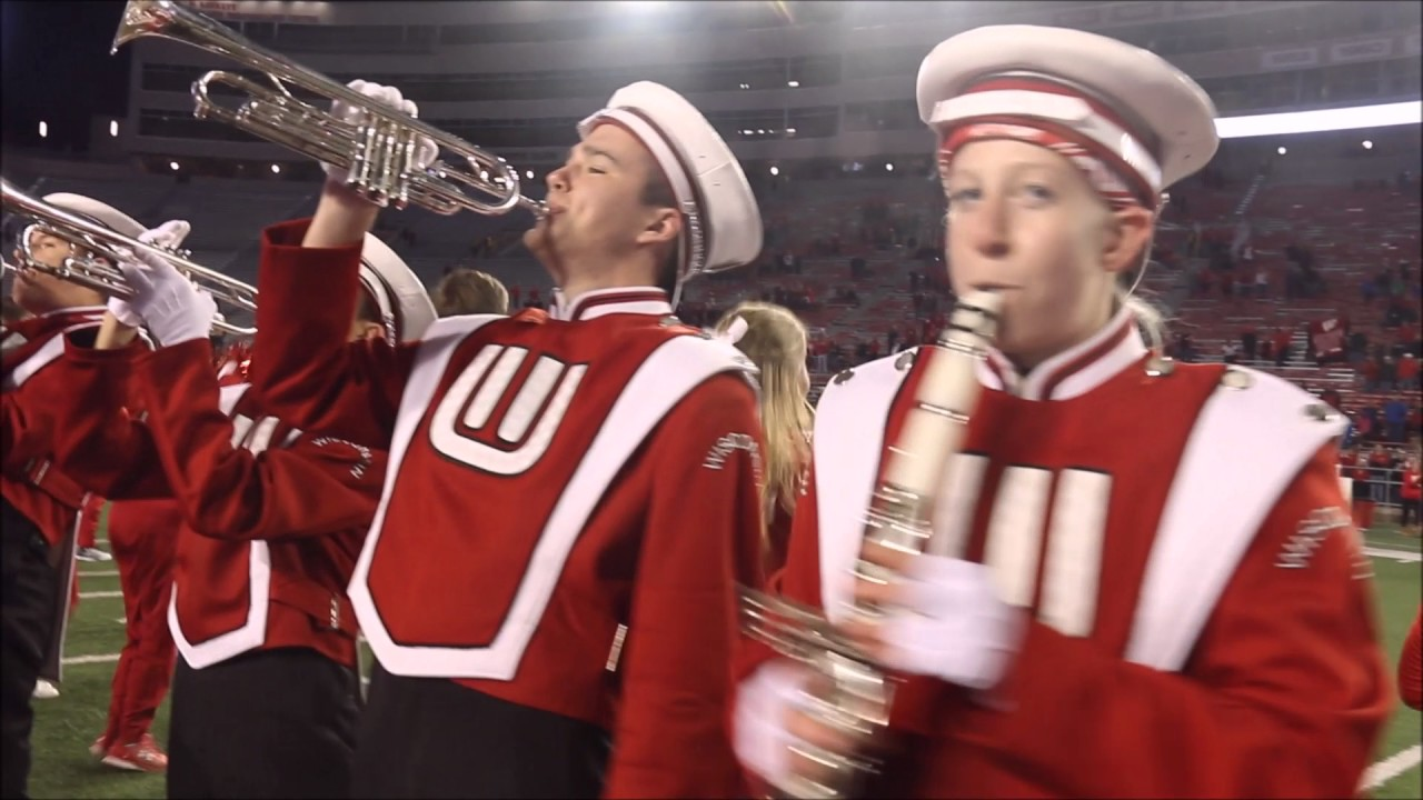 Badger Band 5th Quarter 11 12 16 Youtube