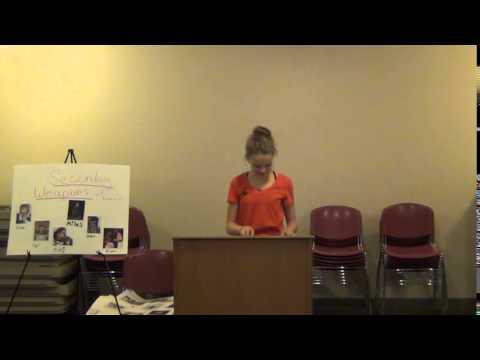 8th Grade Retrospective Speeches