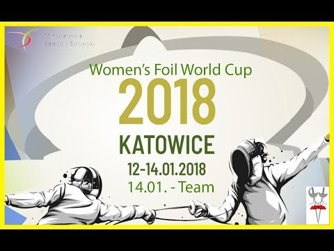 2018 Women's Foil Team World Cup Katowice - Finals