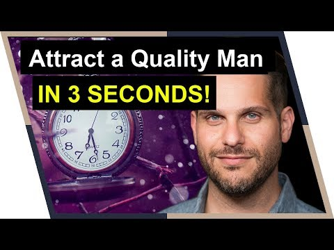 Counterintuitive Secret to Attract Higher Quality Men  (The 3 Second Rule)