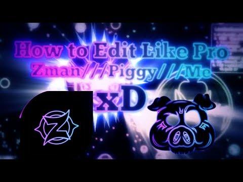 Agario Edit Tutorial /// How to Edit Like Pro /// Zman /// Piggy /// Me xD///Free PF