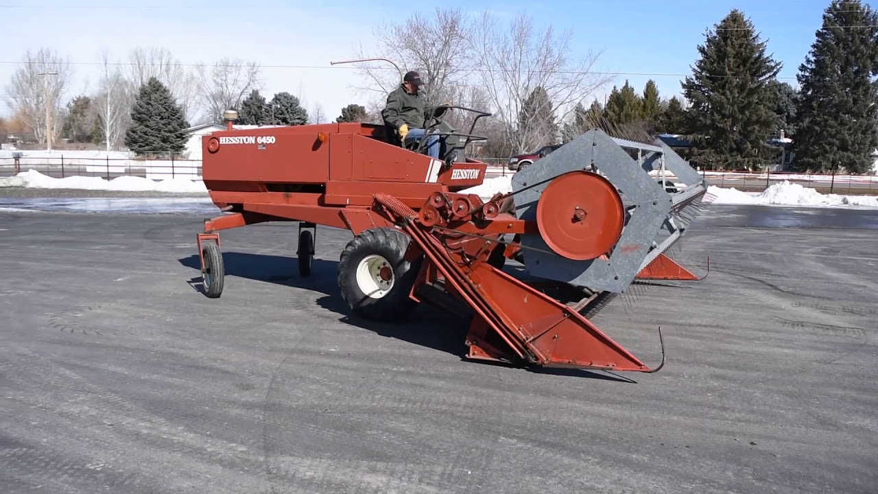 Hesston 8400 Swather For Sale