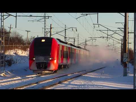 """Скоростной поезд """"Ласточка №727 Нижний Новгород - Москва (Владимир)"""