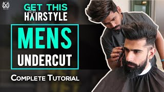 MENS UNDERCUT HAIRSTYLE (Complete Tutorial) | Best HAIRCUT for INDIAN MEN