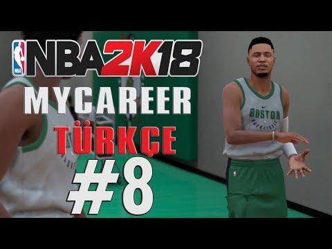 İLK BEŞ YOLUNDA - NBA 2K18 MyCareer Türkçe - Bölüm 8