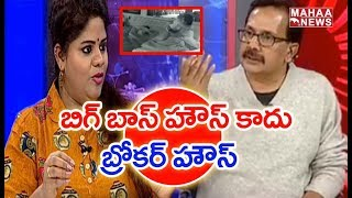 Swetha Reddy About Telugu Bigg Boss Organiser 'Shyam' |#PrimeTimeDebate