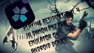 Damon ps2 para android jogando resident evil 4
