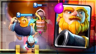 Clash Royale - ROYAL GIANT... SPLASH!? Fun Meta Deck
